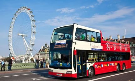 The Original Tour London Sightseeing - 24 Hour Ticket