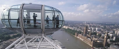 London Eye: Private Capsule Experience para parejas o grupos
