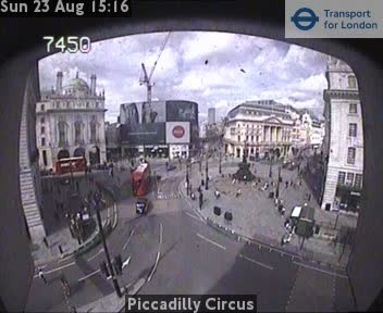Webcam Piccadilly Circus
